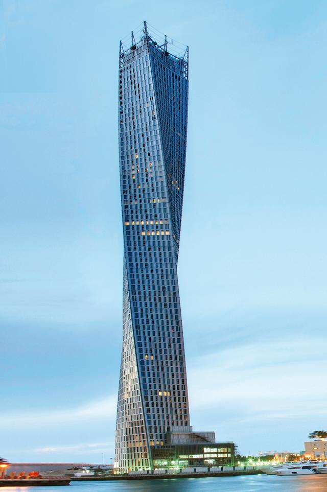 برج كيان اللولبي