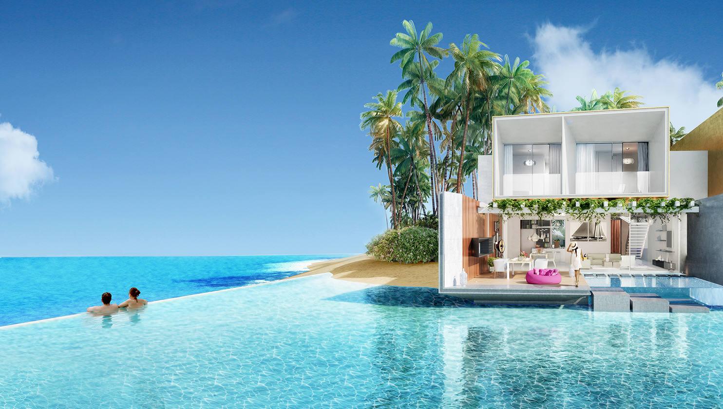 4 غرف نوم في فيلا بمساحة 417 م2، في جزيرة ألمانيا من ذا هارت اوف يوروب