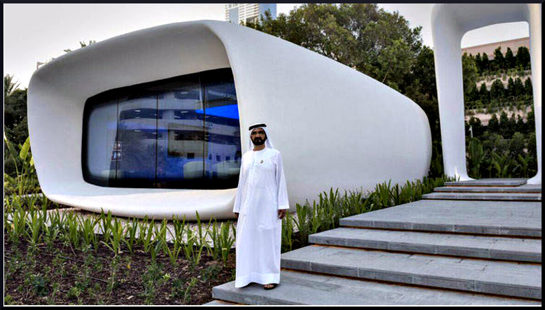 Sheikh Mohammed, استراتيجية دبي للطباعة ثلاثية الأبعاد