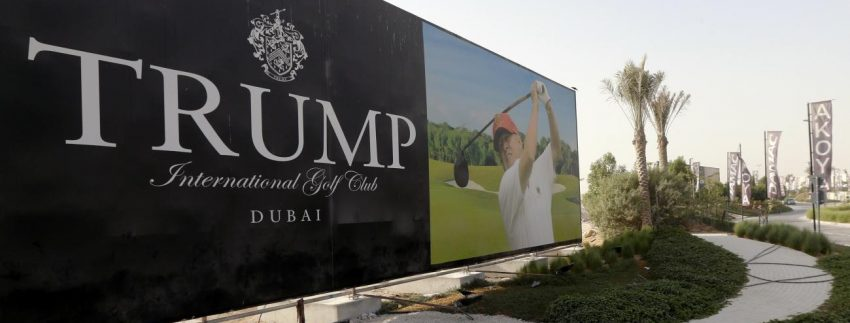 ملعب ترامب إنترناشيونال غولف كلوب دبي