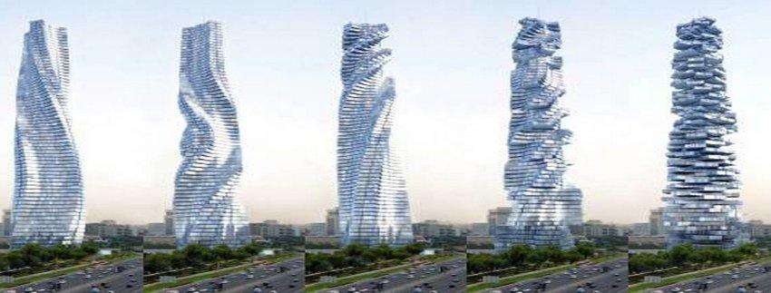 أول برج دوار في العالم