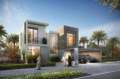 صورة من مشروع فلل جولف لينكس من اعمار العقارية في دبي الجنوب
