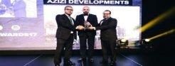 شركة عزيزي للتطوير العقاري تفور بجائزة مطور العام – الشرق الأوسط 2017