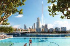 2 غرفة نوم في شقة بمساحة 102 م2 في بالاس ريزيدنسز خور دبي من اعمار العقارية