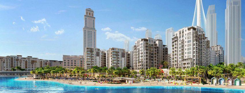 صورة من مشروع شاطئ الخور من شركة اعمار العقارية في دبي