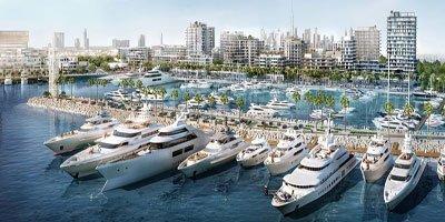 ميناء راشد من اعمار العقارية