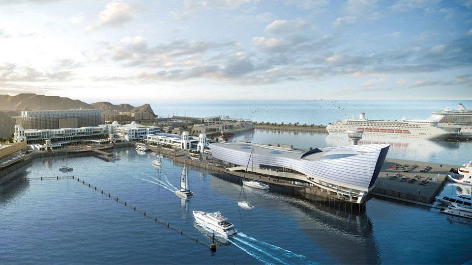 مشروع تطوير الواجهة البحرية لميناء السلطان قابوس التاريخي