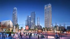 برج كراون آخر مشاريع شركة اعمار في داون تاون دبي